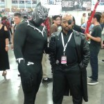 Black Panther and Nick Fury