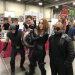 Wolverine, Captain America, Black Widow, and Nick Fury