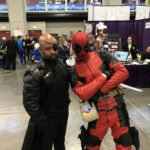Nick Fury and Deadpool